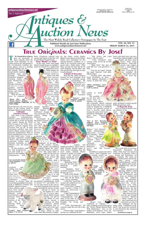 27 Lovely Van Briggle Vase Shapes 2021 free download van briggle vase shapes of antiques auction news 032213 by antiques auction news issuu inside page 1