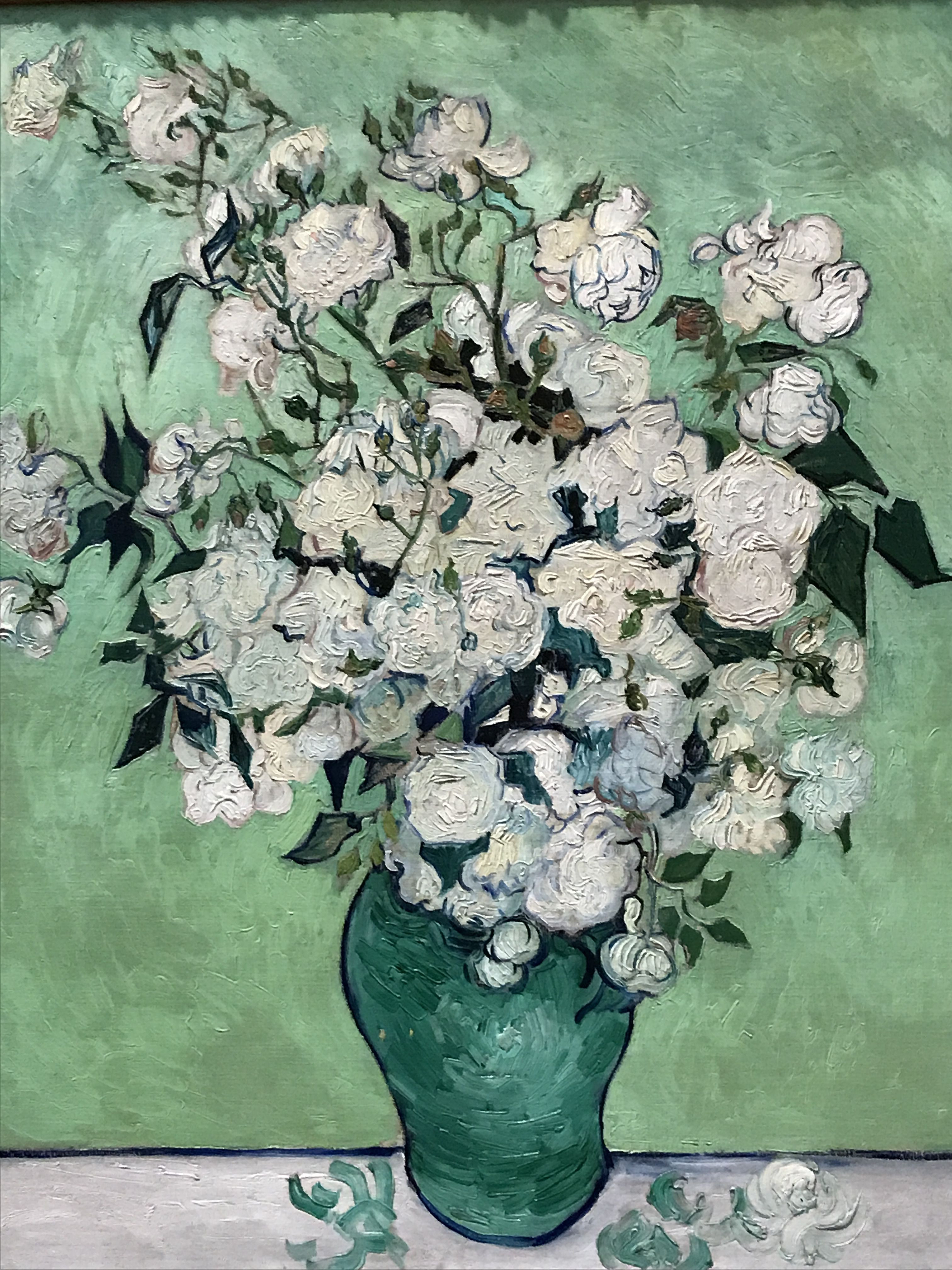 van gogh irises in vase of roses by vincent van gogh the netherlands oc pinterest van throughout malinconie vincent van gogh vase with white roses 1890