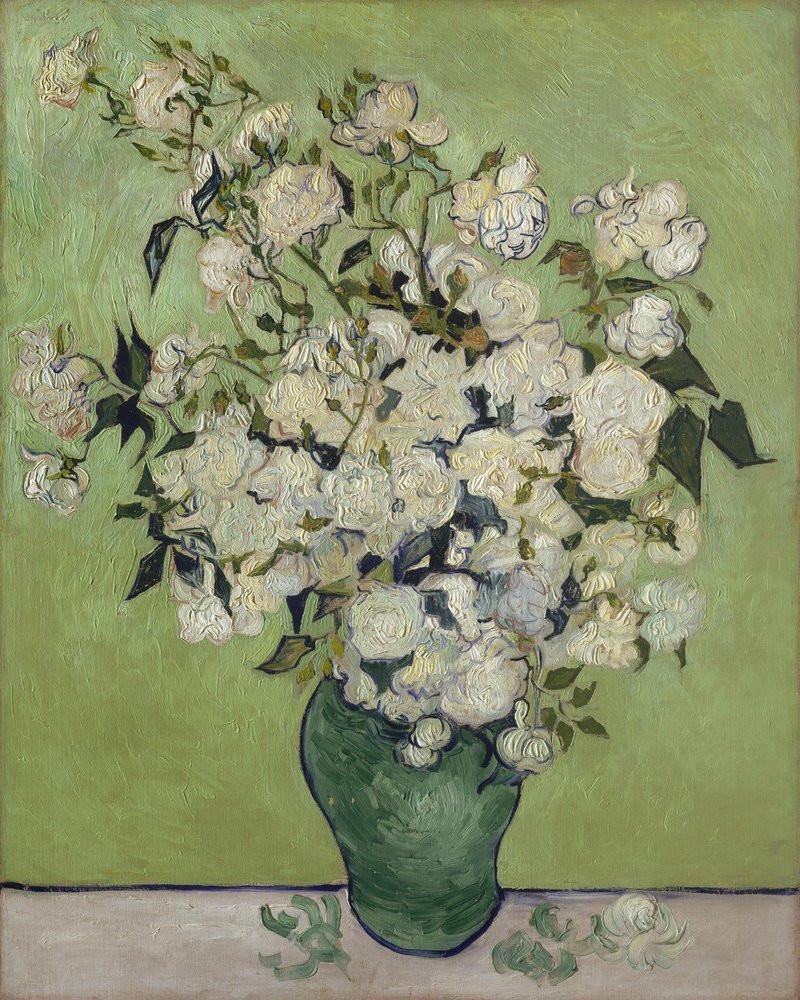 van gogh vase of roses of reprodukcja roses vincent van gogh wally within reprodukcja roses vincent van gogh