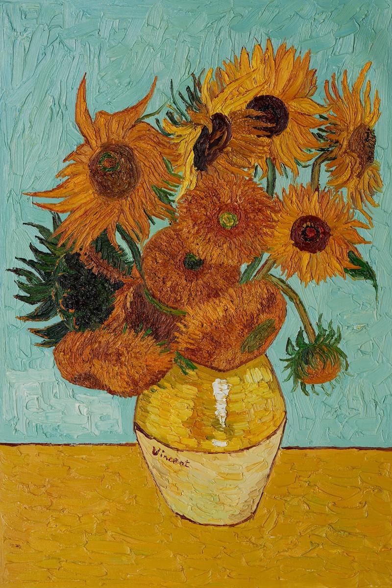 22 Stunning Van Gogh Vase Of Sunflowers 2021 free download van gogh vase of sunflowers of world of whimsical sunflowers pertaining to sunny karlie for vogue australia