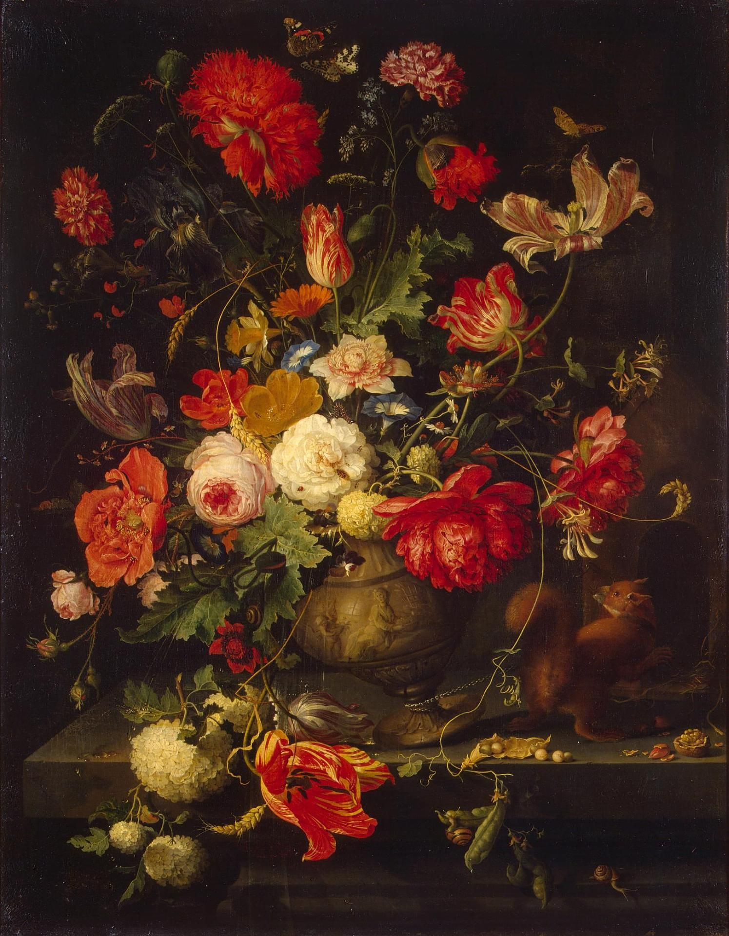 van gogh vase with cornflowers and poppies of abraham mignon vase of flowers second half of 17th century hermitage with abraham mignon vase of flowers second half of 17th century hermitage museum d¦d²dµn'n‹ d² d²dd·dµ 1660 ddd½don' dŸd