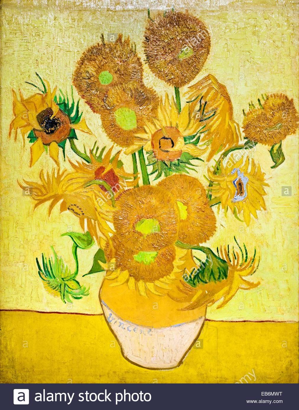 van gogh vase with cornflowers and poppies of vincent van gogh flower stock photos vincent van gogh flower stock with regard to sunflowers 1889 vincent van gogh 1853 1890 van gogh museum amsterdam