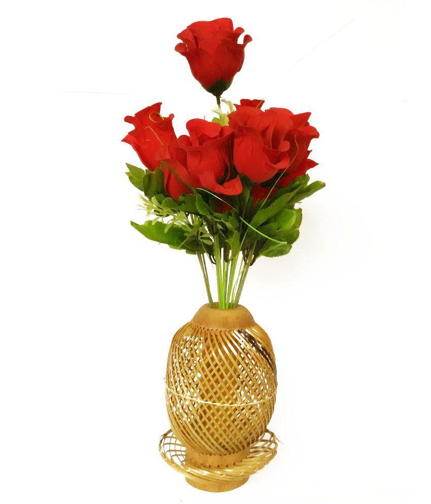 vase for long stem flowers of crafts arts brown bamboo flower vase buy crafts arts brown with regard to crafts arts brown bamboo flower vase