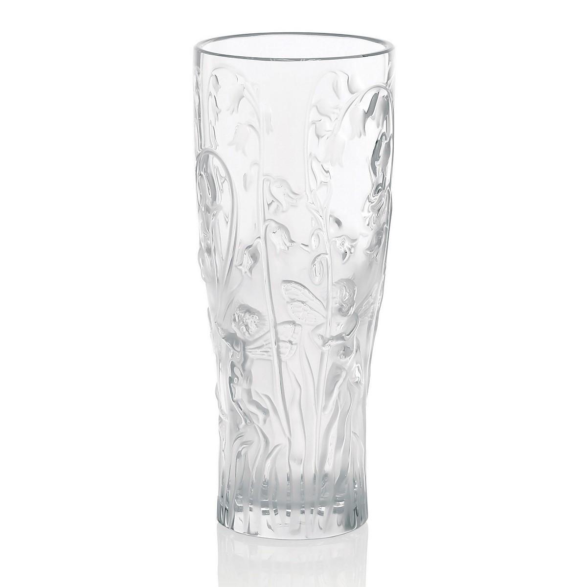 vase lalique les bacchantes of elves vase by lalique glass hepplestone fine art pertaining to elves vase lalique glass