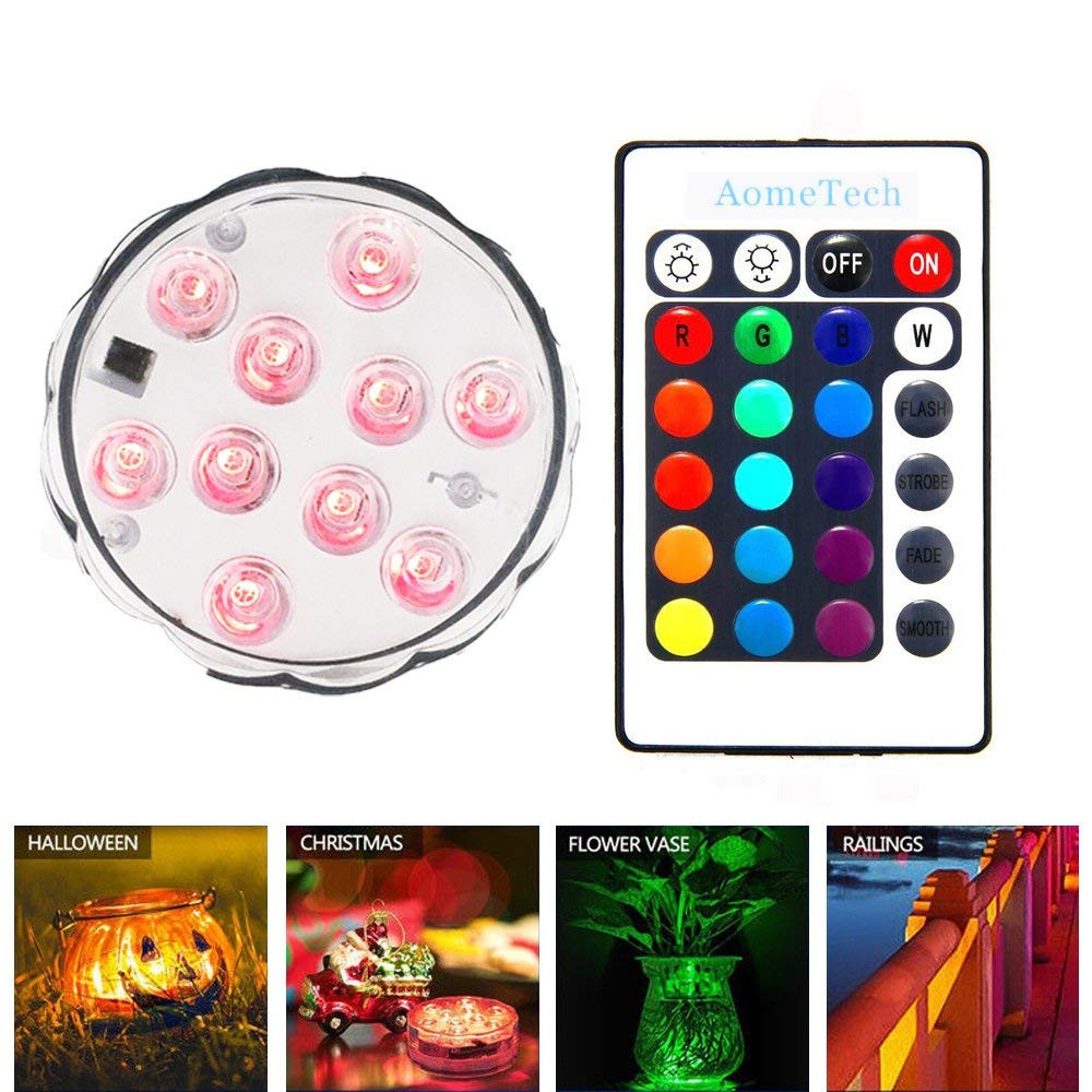 vase lights vase illuminators of amazon com aometech 2x led waterproof light battery powered multi regarding light battery powered multi color submersible led light accent light with ir remote for aquarium fish tank pond party pool fountain wedding vase