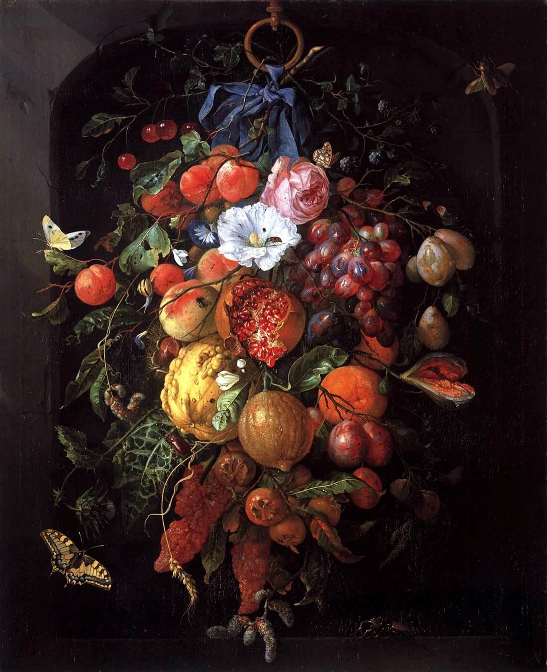 vase of flowers de heem of elements and principles of art watercolor journal for jan davidsz de heem
