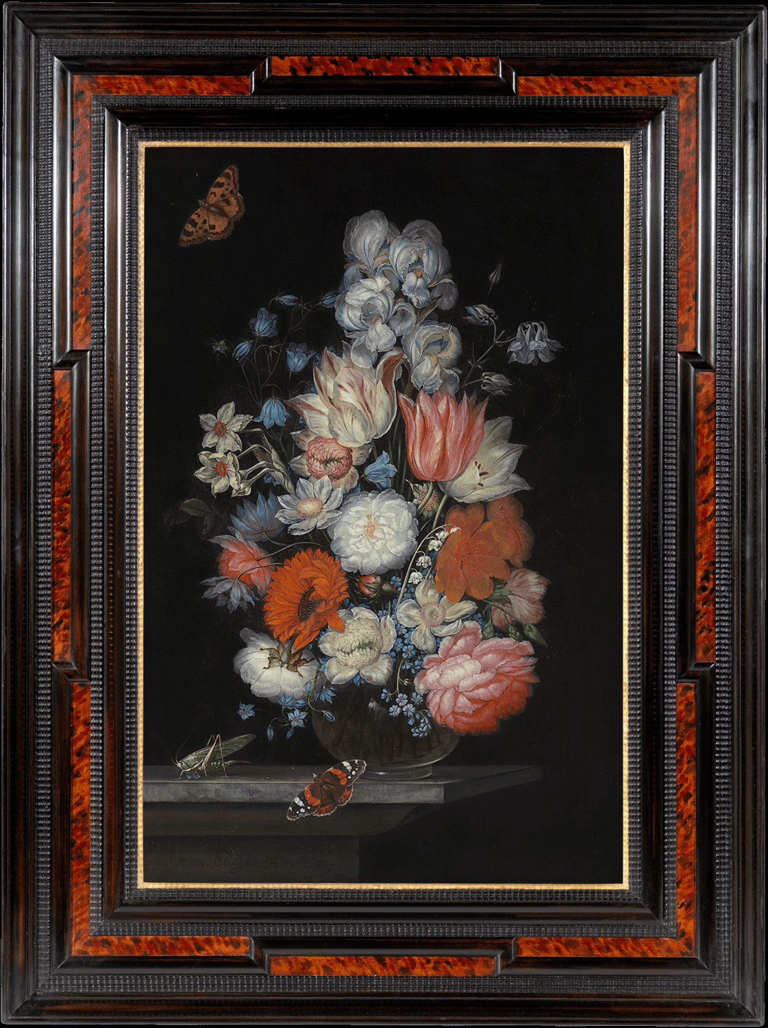 vase of flowers de heem of french continental furniture alain r truong page 5 throughout ottmar elliger the elder still life of flowers in a vase