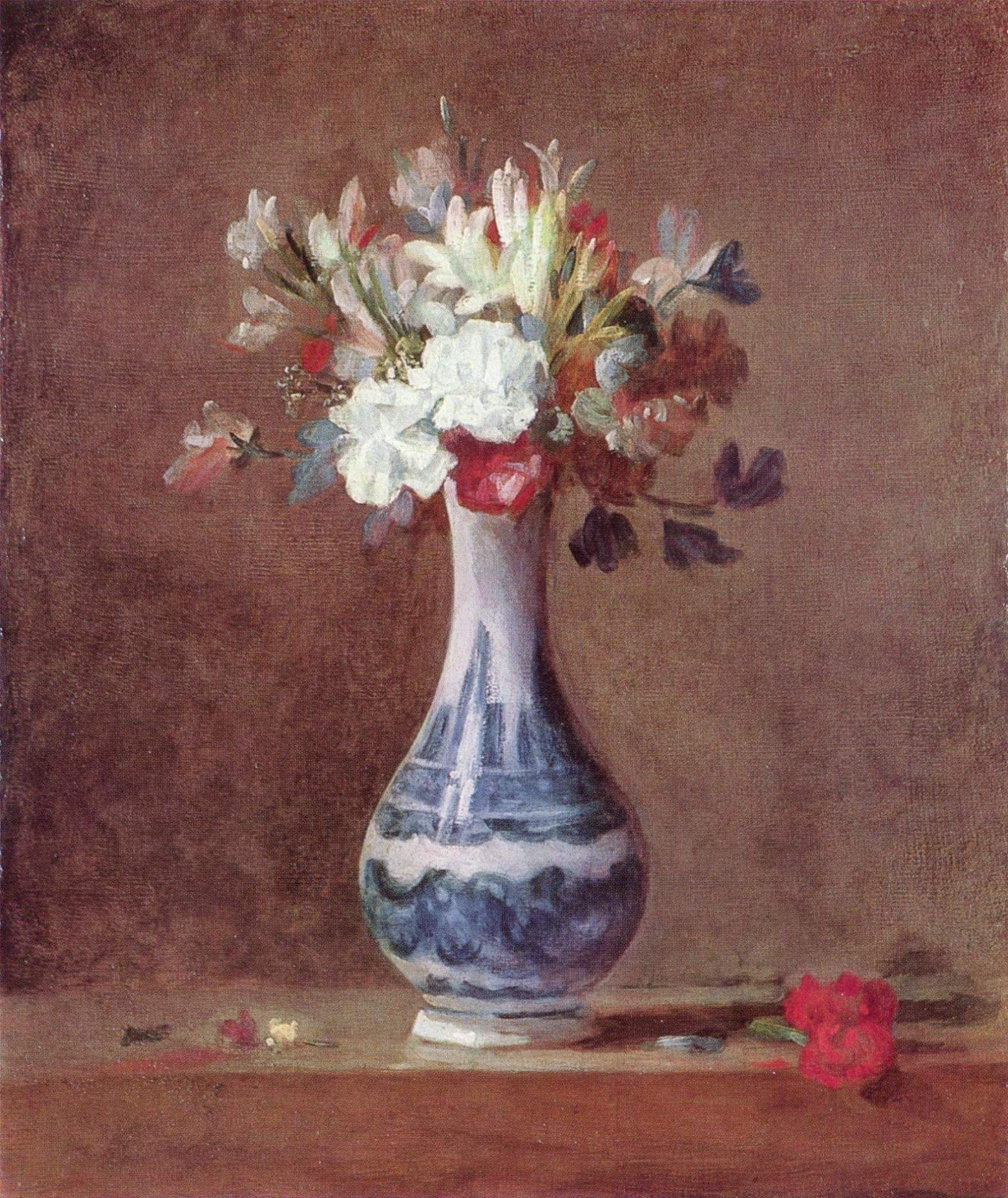 10 Great Vase Of Flowers De Heem