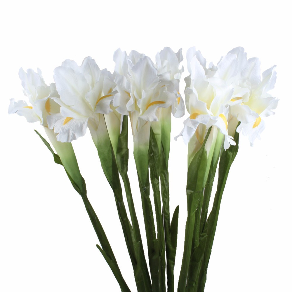 vase of irises of ourwarm 5pcs artificial flower iris decorative fake flowers display intended for getsubject aeproduct getsubject