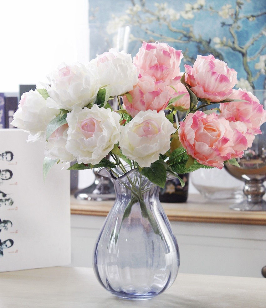 vase of peonies monet of aliexpress com buy luyue 7 heads artificial rose peony bouquet inside 3326662540 773204859 3326668261 773204859 3326671110 773204859 3326720932 773204859 3326723864 773204859 3326726726 773204859 3327303726 773204859