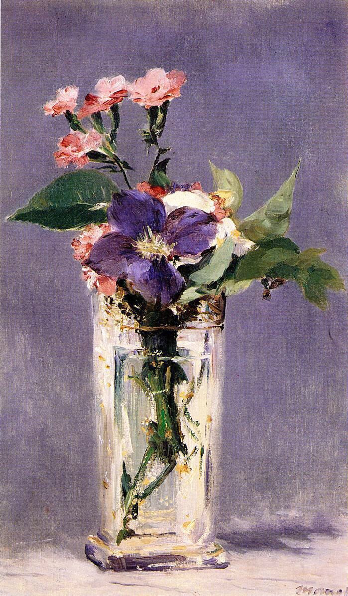 vase of sunflowers henri matisse of edouard manet pinks and clematis in a crystal vase 1882 beauty inside edouard manet pinks and clematis in a crystal vase 1882 henri matisse a‰douard