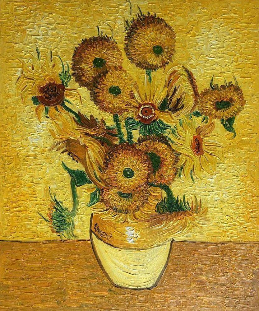 vase of sunflowers henri matisse of vase with fifteen sunflowers vincent van gogh nova paintings within vase with fifteen sunflowers vincent van gogh nova paintings