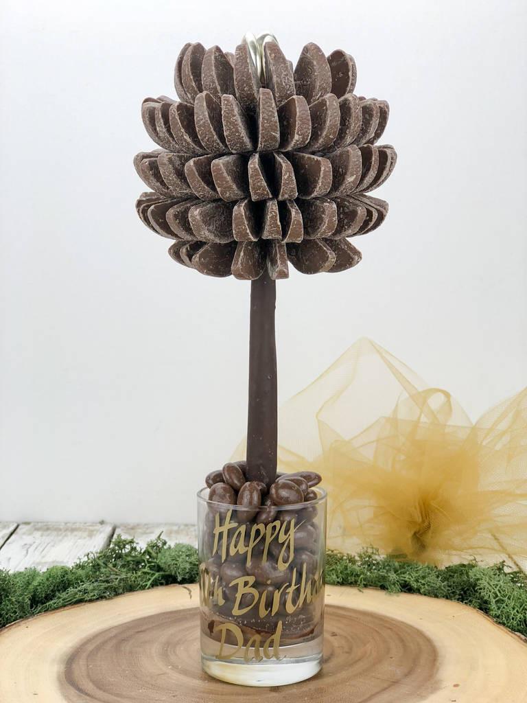 vase shaped trees of mini terrys chocolate orange tree by sweet trees with mini terrys chocolate orange tree
