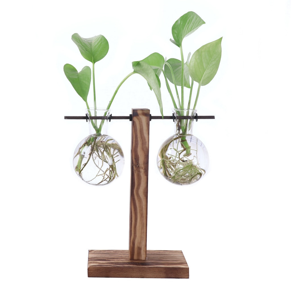 vase stands iron of new vintage wooden stand glass hydroponic flower vase terrarium regarding new vintage wooden stand glass hydroponic flower vase terrarium container ball for xmax gift diy home