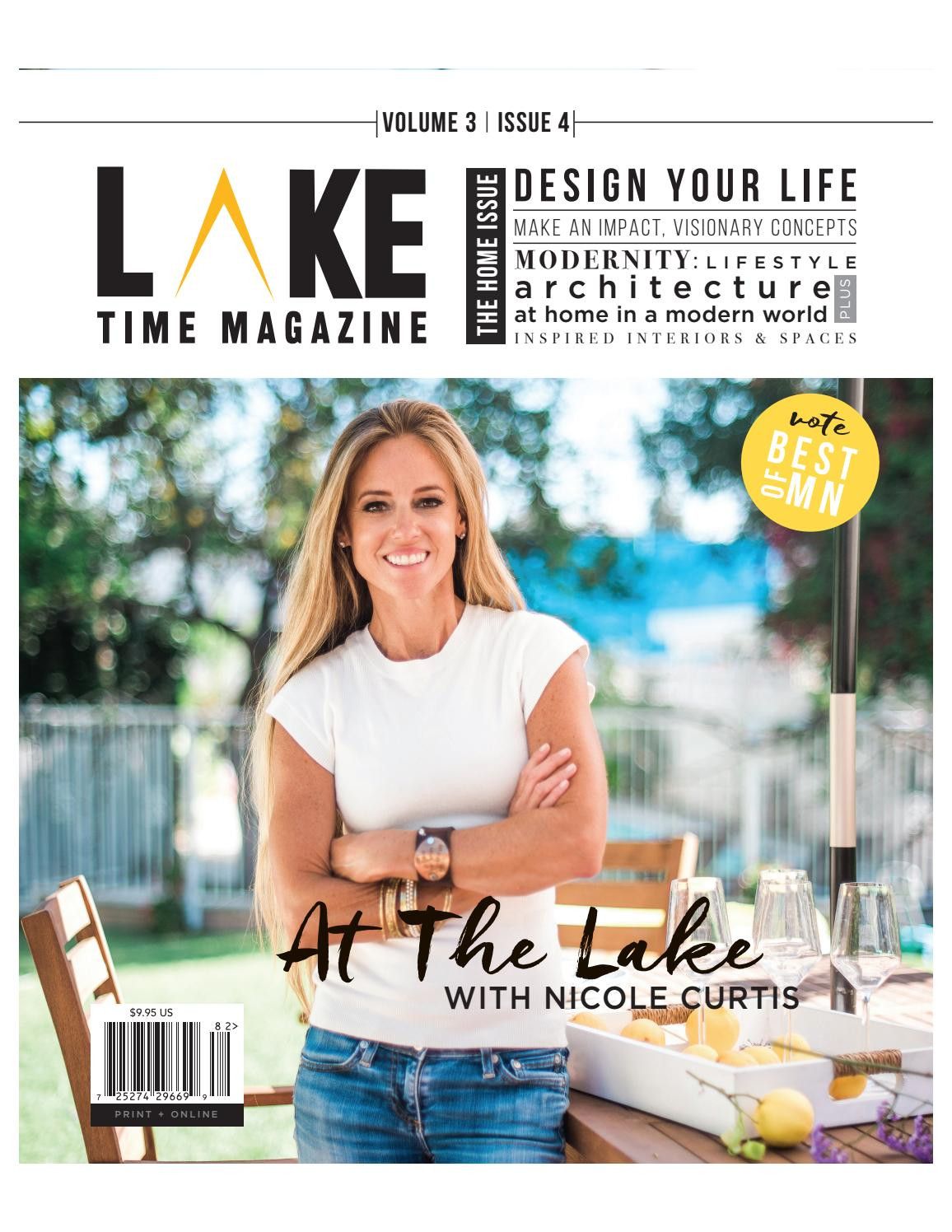 Vase Turned Dining Table Magnolia Of Lake Time Magazine Vol 3 issue 4 Full by Lake Co issuu with Page 1