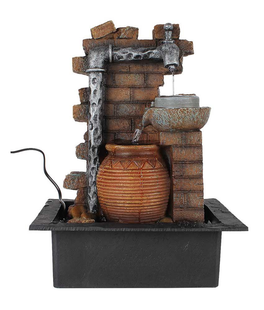 vase water feature of tiikart textured water fountain showpieces buy tiikart textured throughout tiikart textured water fountain showpieces tiikart textured water fountain showpieces