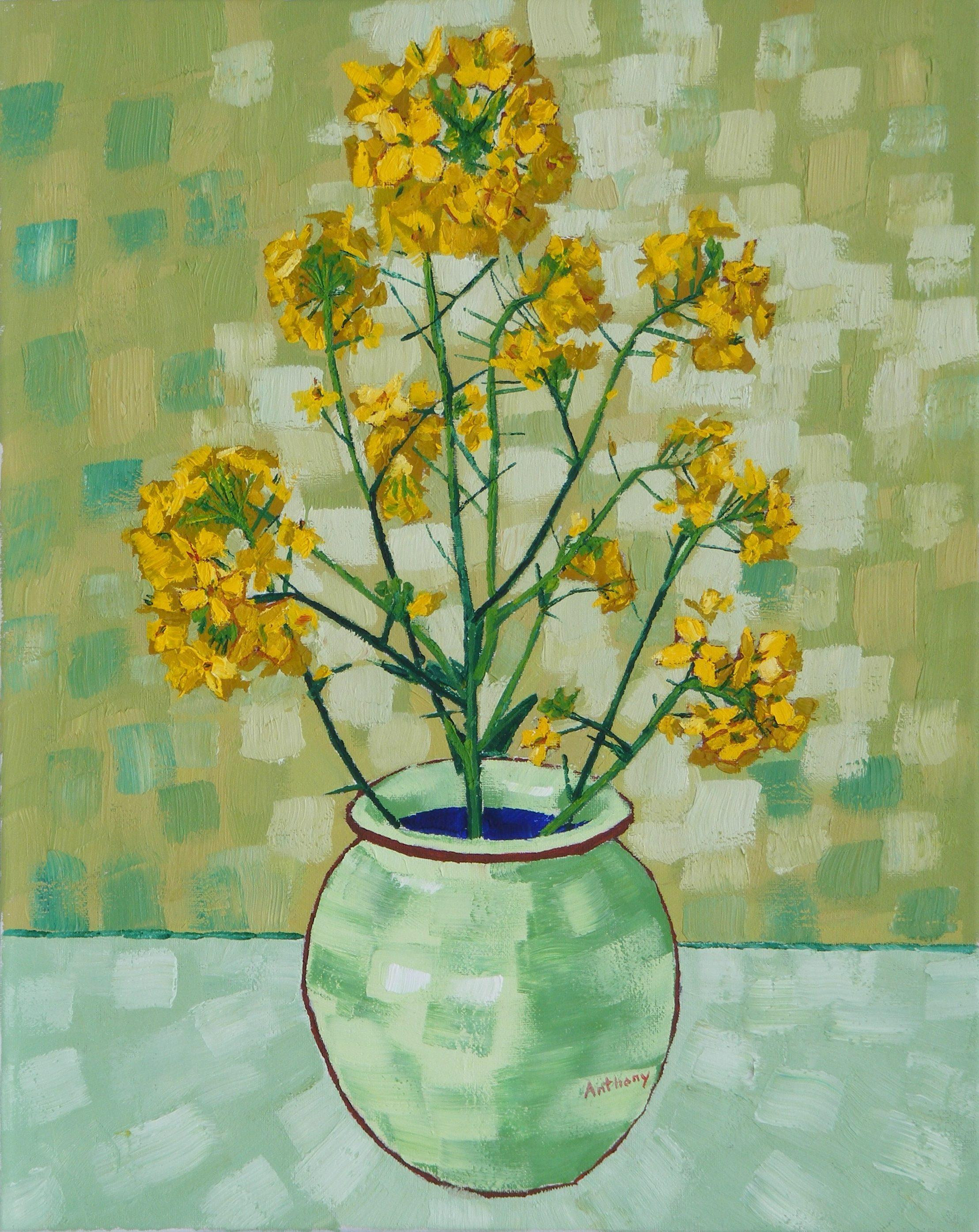 vase with fifteen sunflowers of samuel rothbort large modernist floral bouquet impasto oil within samuel rothbort large modernist floral bouquet impasto oil painting of flowers in a vase painting for sale at 1stdibs