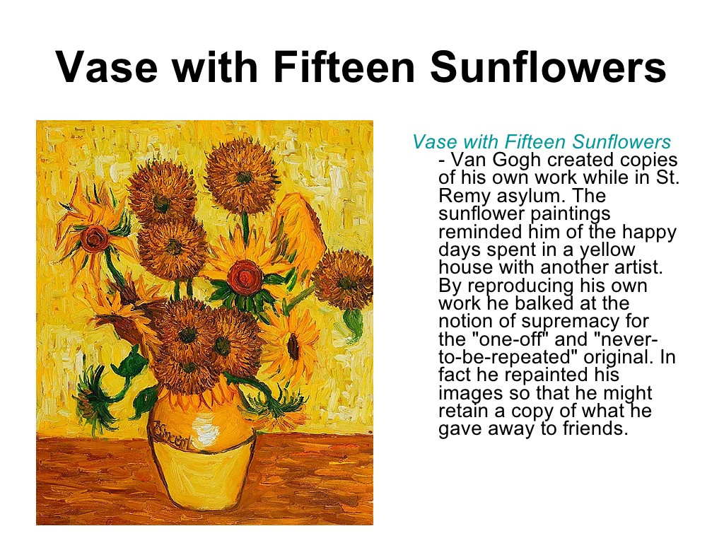 30 Unique Vase with Fifteen Sunflowers 2021 free download vase with fifteen sunflowers of vase with fifteen sunflowers vase intended for slide 5 1024