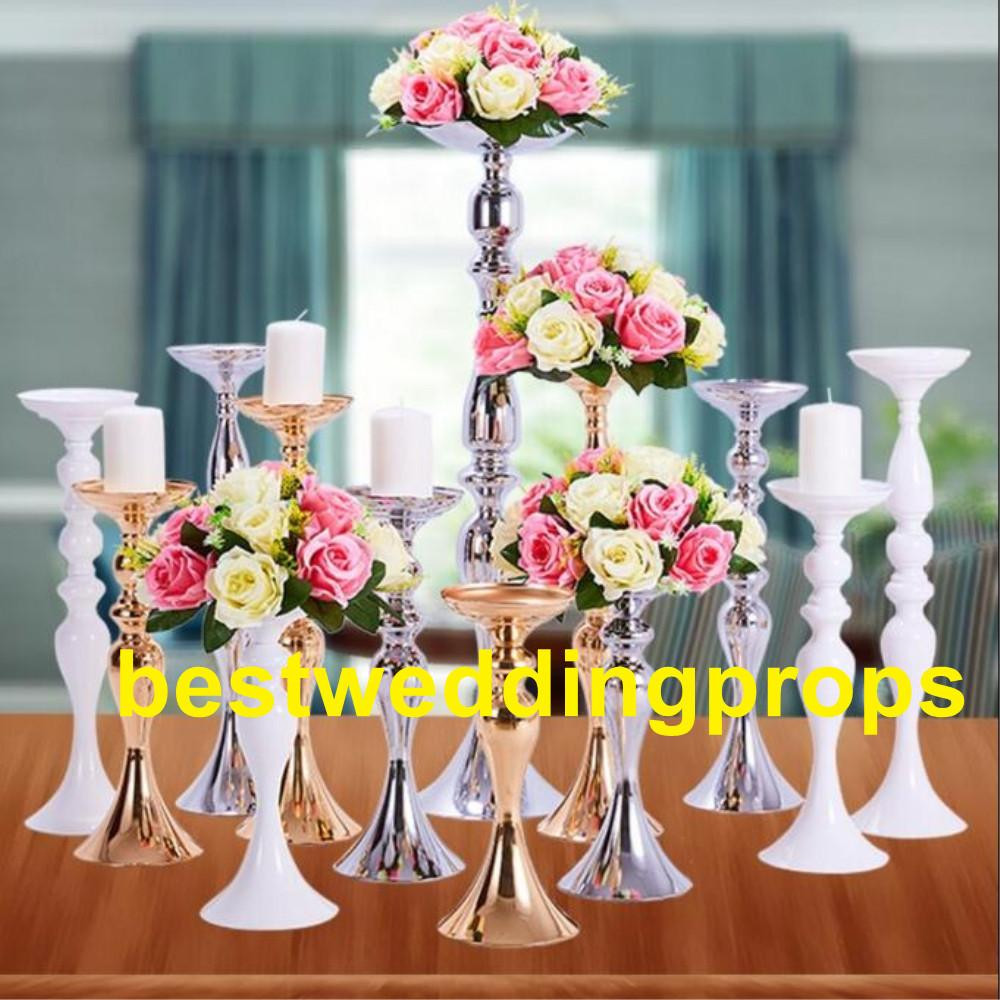 vase with iron stand of wedding decorative gold metal vase centerpieces trumpet flower vase for other style if you need contact seller