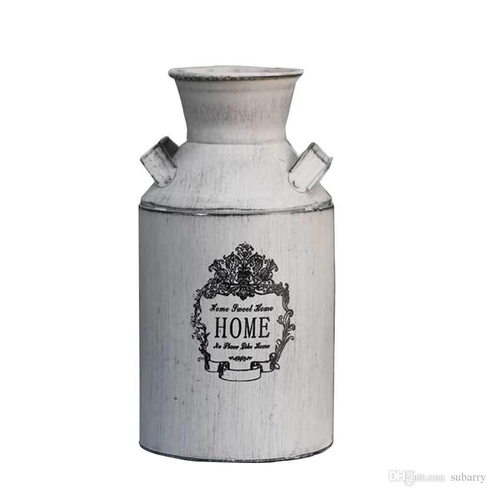 vases for sale online of elegant white country rustic primitive jug vase milk can flower vase for elegant white country rustic primitive jug vase milk can flower vase for wedding party home cafe decoration decorative vases with flowers designer flower