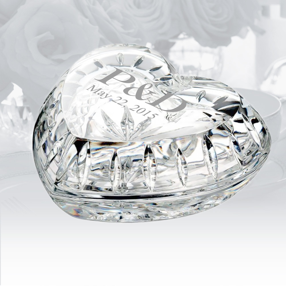vera wang crystal vase of keepsake gifts waterford giftology heart box personalized gift intended for keepsake gifts waterford giftology heart box personalized gift crystalplus com