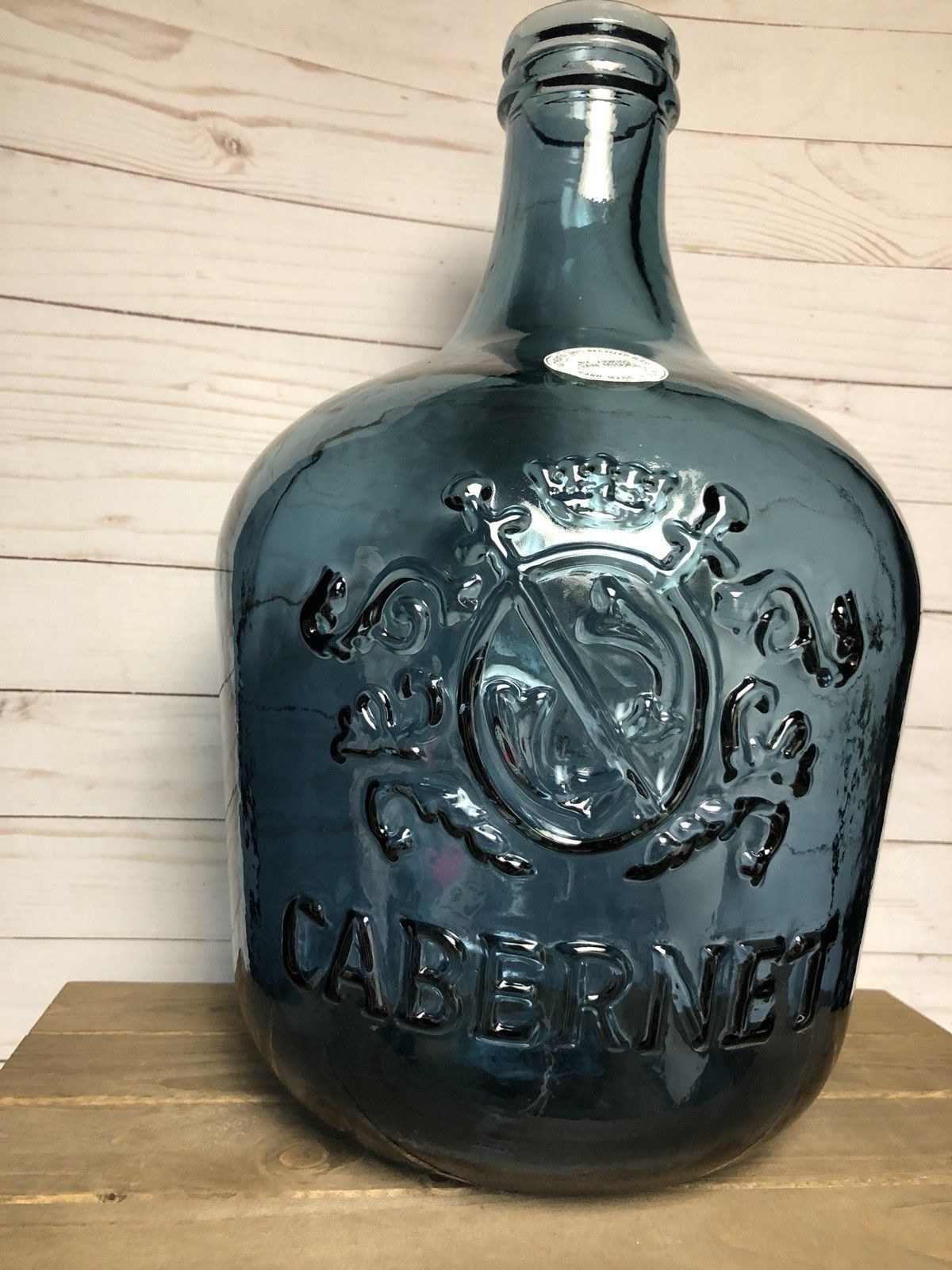 vidrios san miguel glass vase of vidrios san miguel wine jug cabernet demijohn new 5 gallon pertaining to vidrios san miguel wine jug cabernet demijohn new 5 gallon recycled glass 1 of 2 see more
