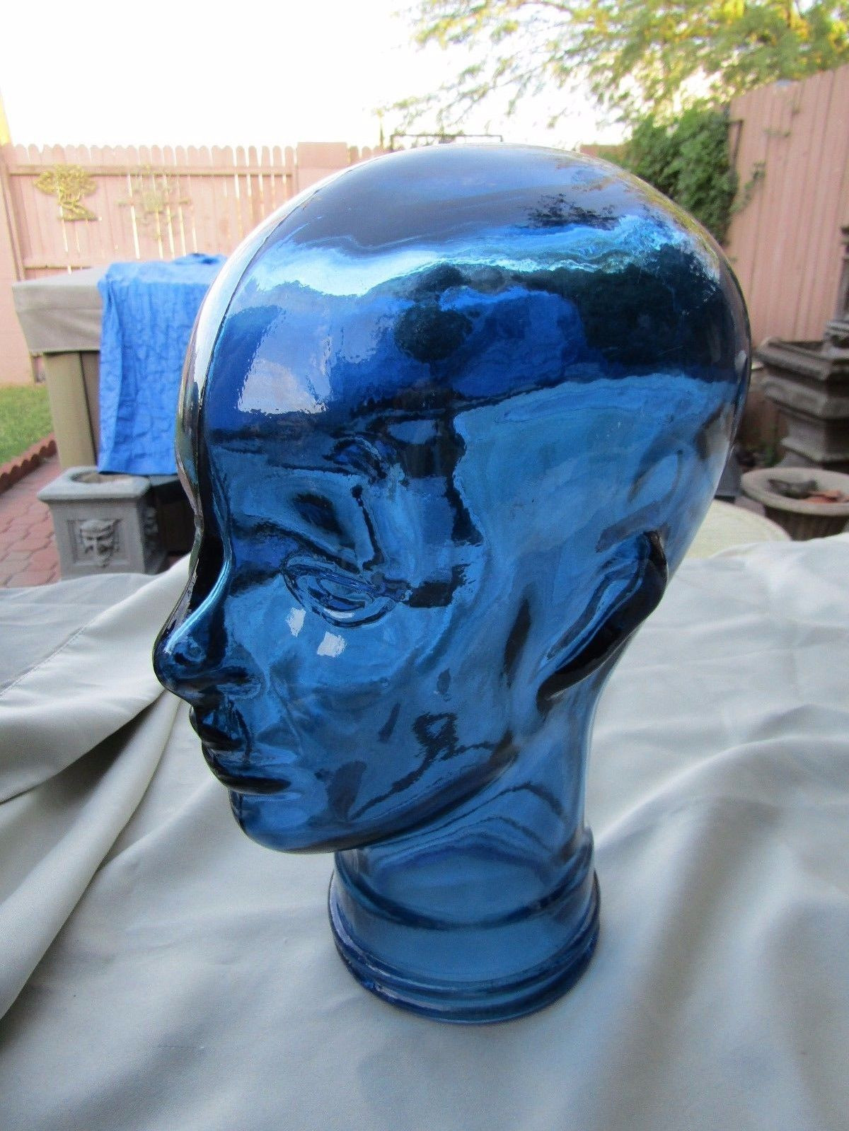 vidrios san miguel vases of vidrios san miguel large blue glass human head art glass 29 99 for vidrios san miguel large blue glass human head art glass 1 of 7 see more