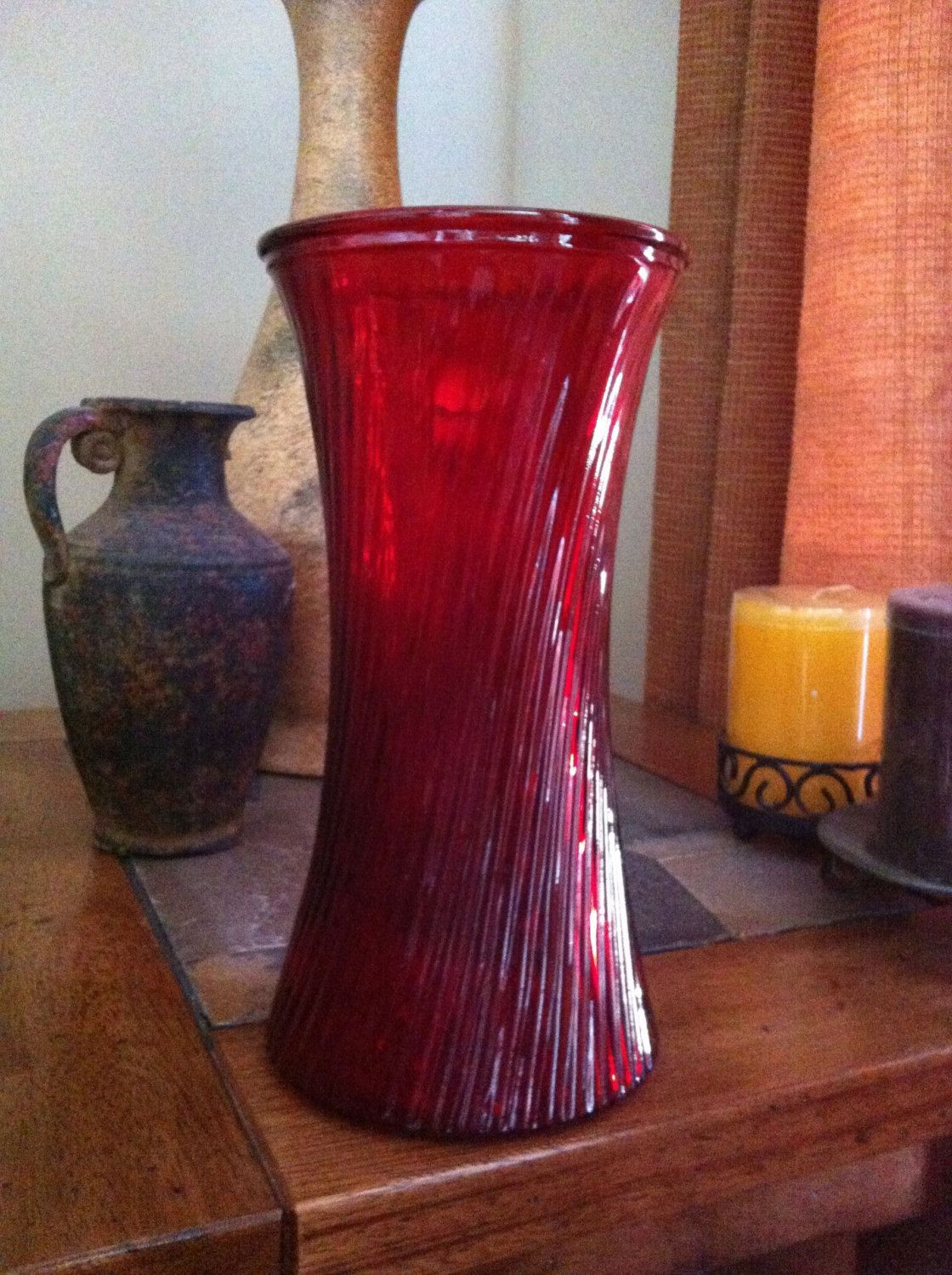 viking handmade vase of red 10 inch brody glass vase vintage vases and glass for red 10 inch brody glass vase