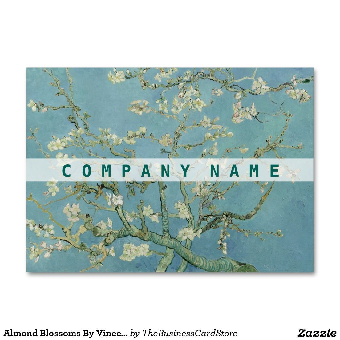 vincent van gogh vase with cornflowers and poppies of almond blossoms by vincent van gogh large business card arts and in almond blossoms by vincent van gogh large business card