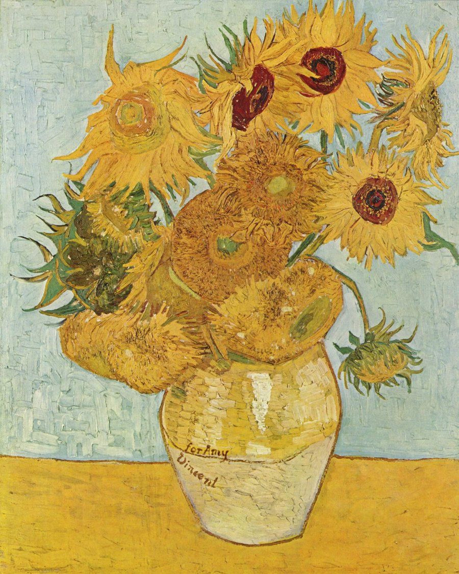 Vincent Van Gogh Vase with Cornflowers and Poppies Of for Amy This Episode Made Me Cry Doctor who Pinterest Van In for Amy This Episode Made Me Cry Sunflower Painting Van Gogh Sunflower Paintings