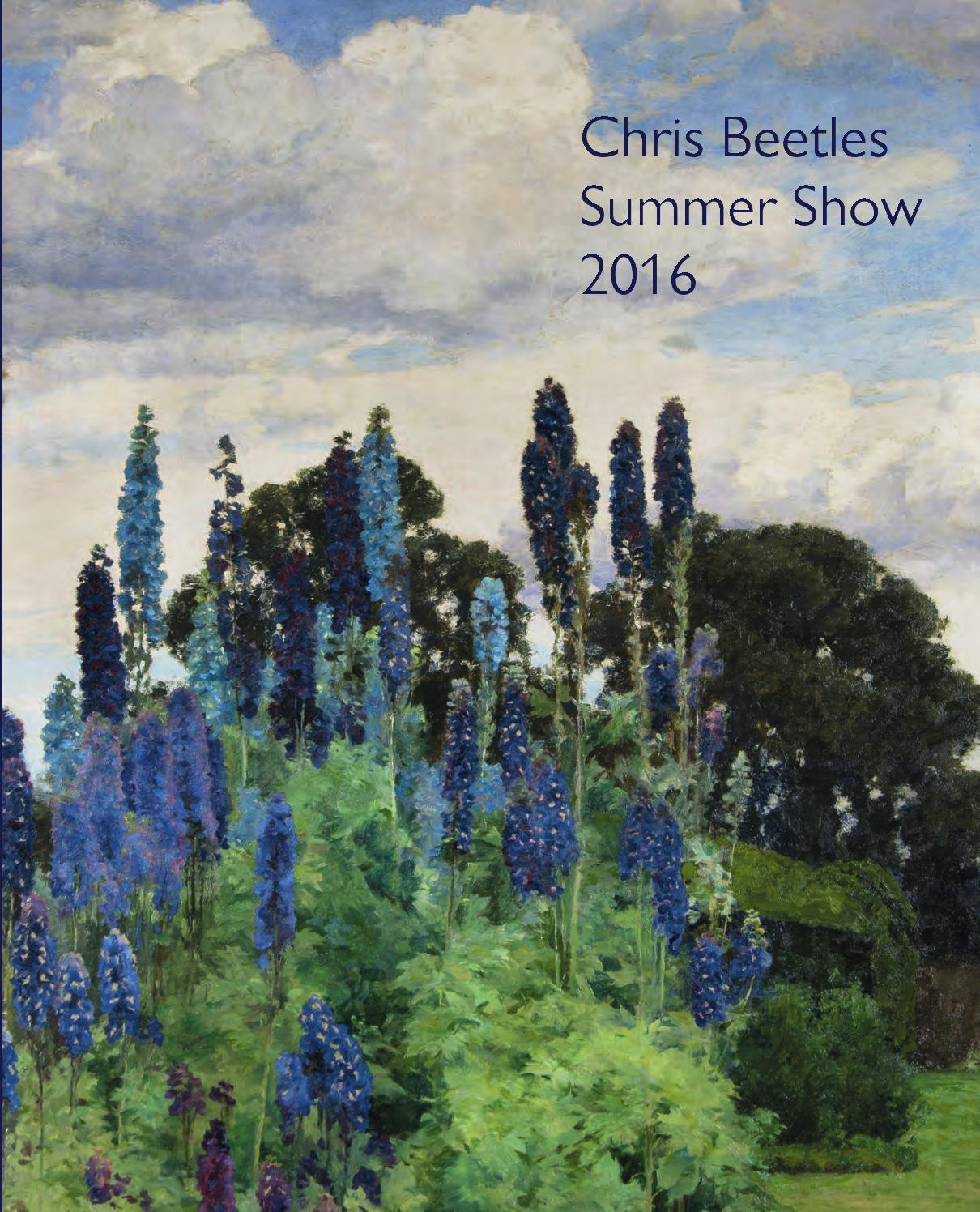 vincent van gogh vase with red poppies of chris beetles summer show 2016 by chris beetles issuu in page 1