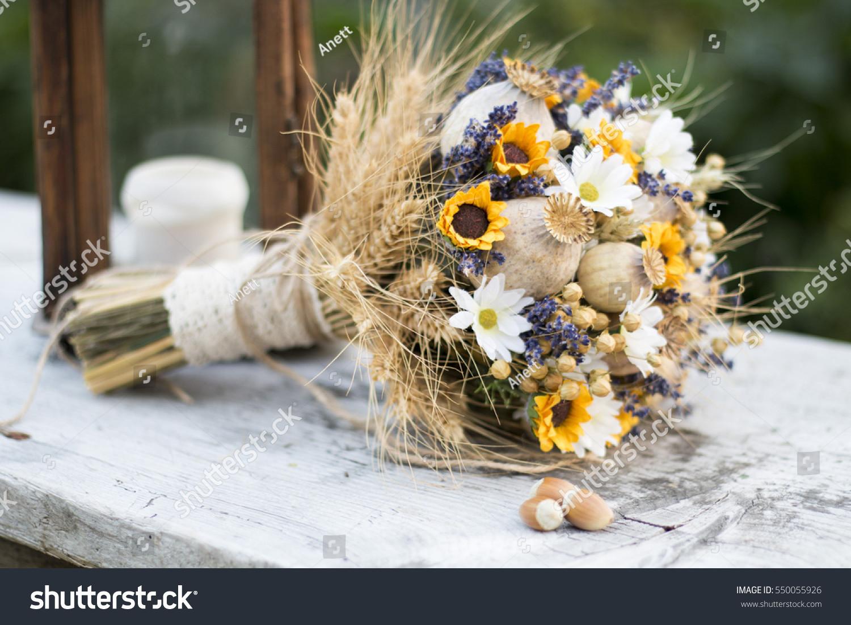 vintage baby head vase of vintage wedding bouquet dry flowers lavender stock photo edit now for vintage wedding bouquet of dry flowers lavender poppy head and sunflowers vintage wedding bouquet
