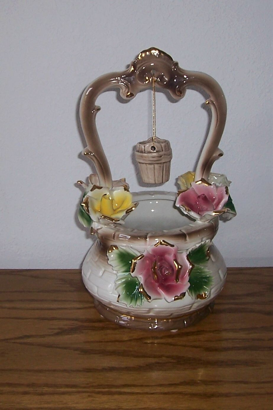 Vintage Capodimonte Vase Of I Bought This Capodimonte Wishing Well at An Antique Shop In Roswell Regarding I Bought This Capodimonte Wishing Well at An Antique Shop In Roswell Ga