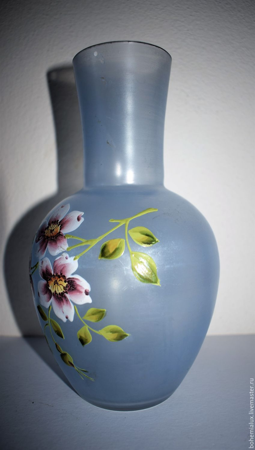 vintage czech glass vase of vintage vase hand painted 19 century bohemia haida shop online on with regard to order vintage vase hand painted 19 century bohemia haida bohemialux