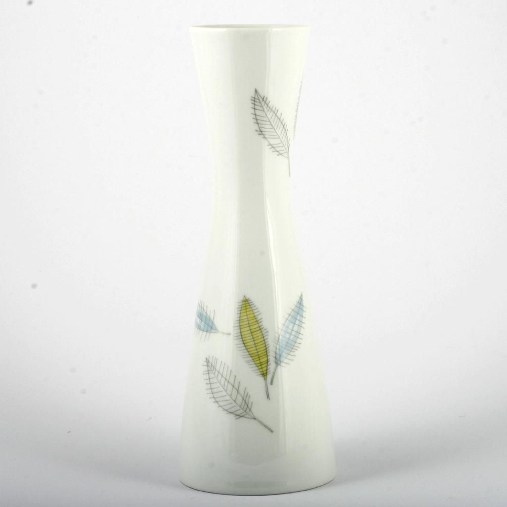 Vintage Floor Vase Of Rosenthal China Vase Bunte Blatter Colored Leaves Vintage Mid In Rosenthal China Vase Bunte Blatter Colored Leaves Vintage Mid Century Modern
