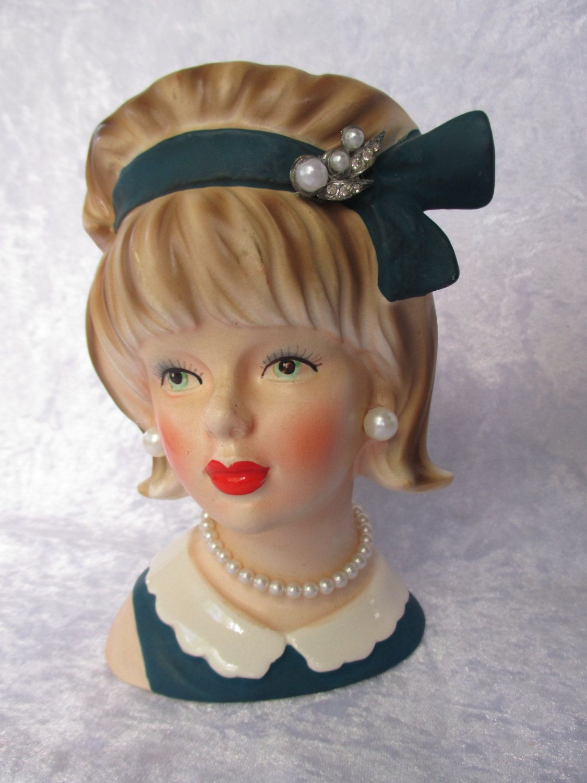 10 Popular Vintage Girl Head Vase 2021 free download vintage girl head vase of stunning 1950s teen age lady head vase japan enesco e 7013 6 tall intended for stunning 1950s teen age lady head vase japan enesco e 7013 6 tall