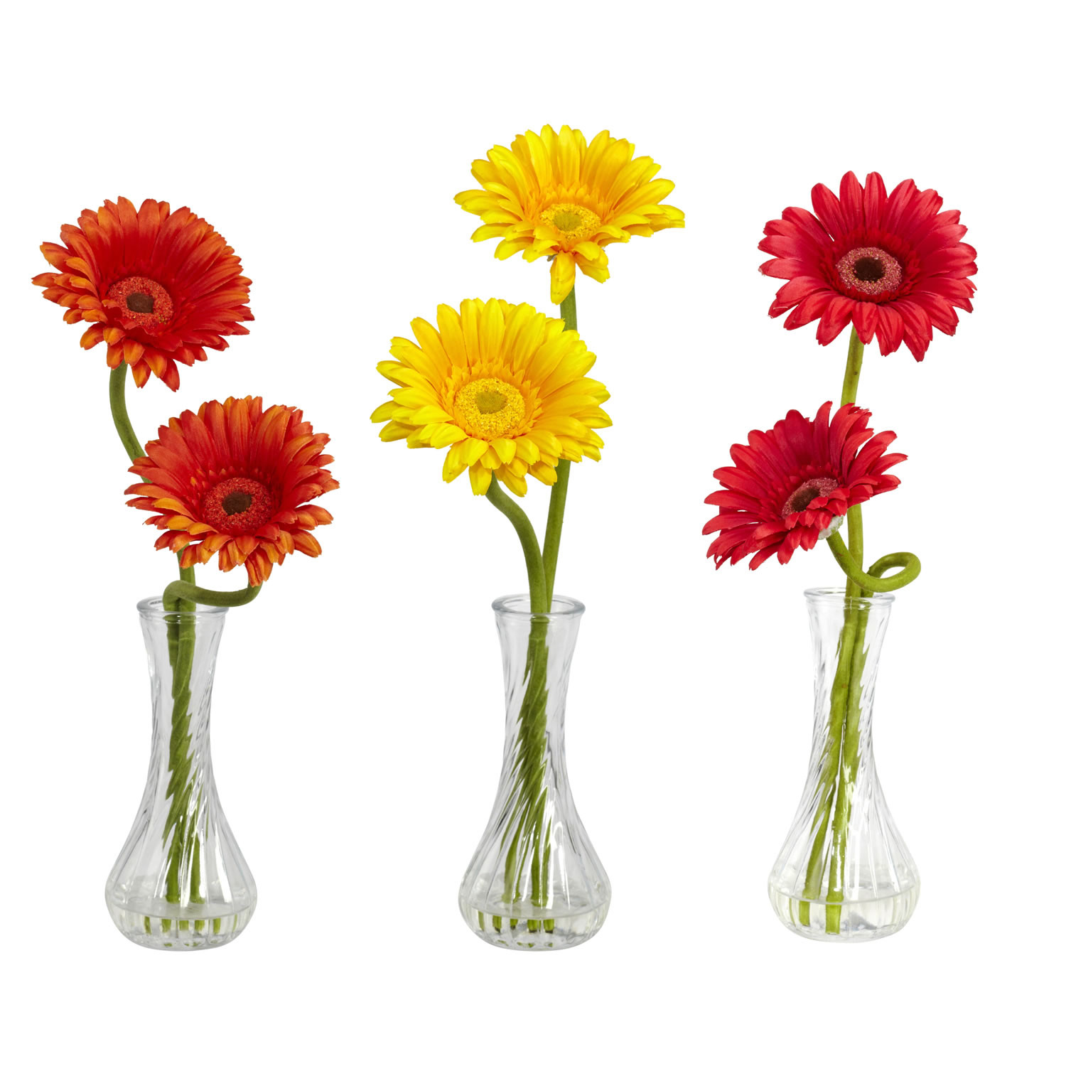vintage glass bud vases of pictures of flowers in bud vases flowers healthy throughout gerber daisy w bud vase set of 3 silk specialties