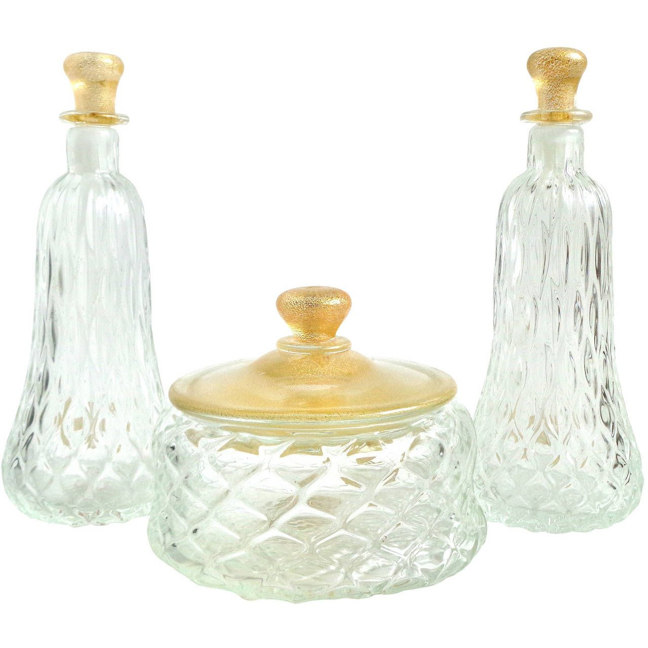 16 Great Vintage Italian Glass Vases