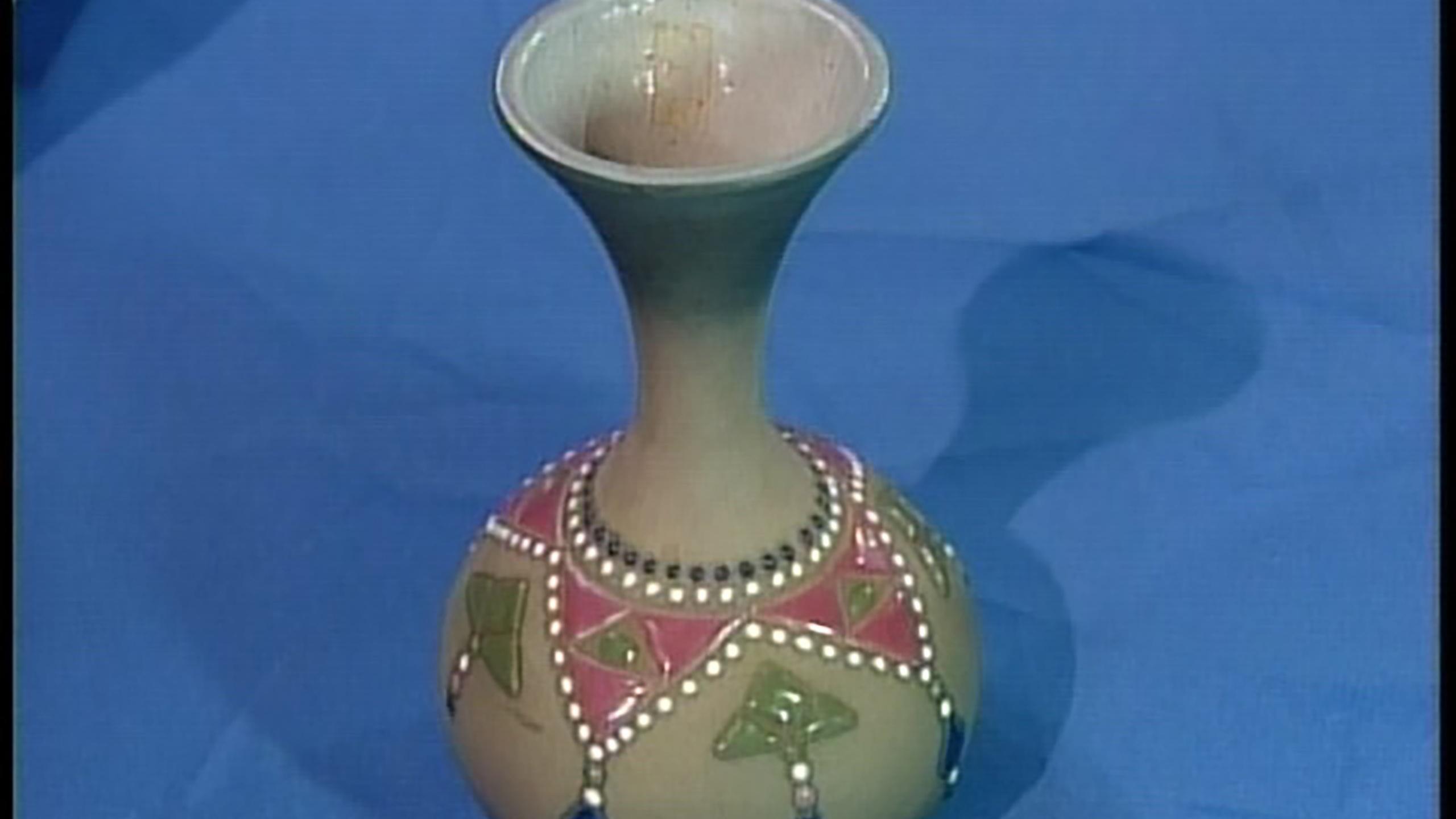 vintage japanese bronze vase of antiques roadshow appraisal 1962 rose cabat feelie vase twin inside appraisal mccoy porcelain vase ca 1920