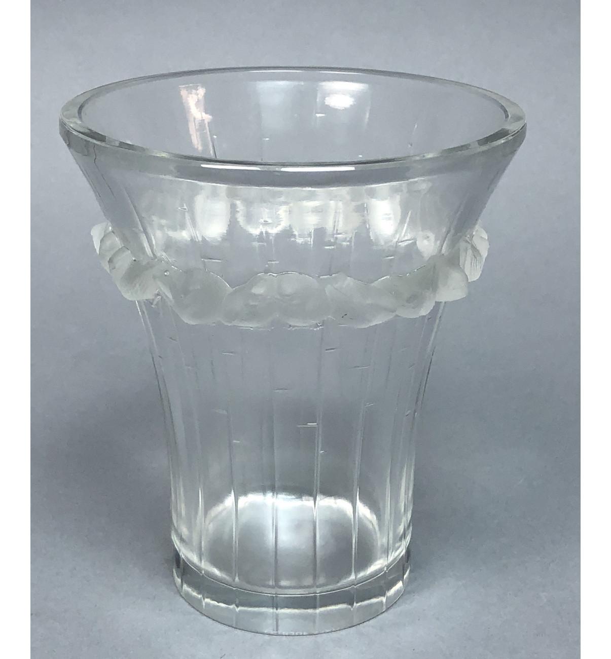 vintage lalique crystal vases of ml 210 vintage lalique france crystal vase raised frosted crystal throughout 210 vintage lalique france crystal vase