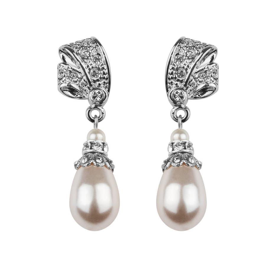 vintage pearl china co vase of antique inspired pearl drop earrings by katherine swaine regarding antique inspired pearl drop earrings