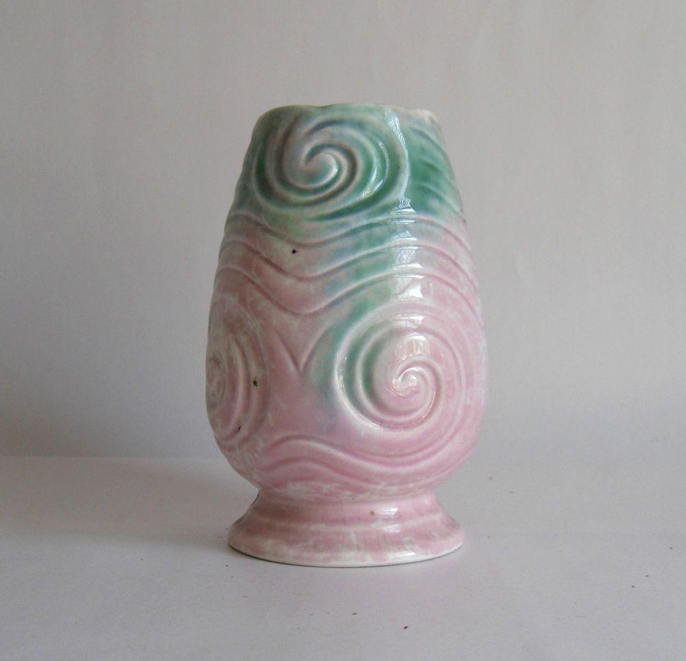 10 Fashionable Vintage Pink Ceramic Vase 2021 free download vintage pink ceramic vase of vintage 50s sylvac sylvac pottery vase 675 pale green pink regarding vintage 50s sylvac sylvac pottery vase 675 pale green pink ammonite spirals