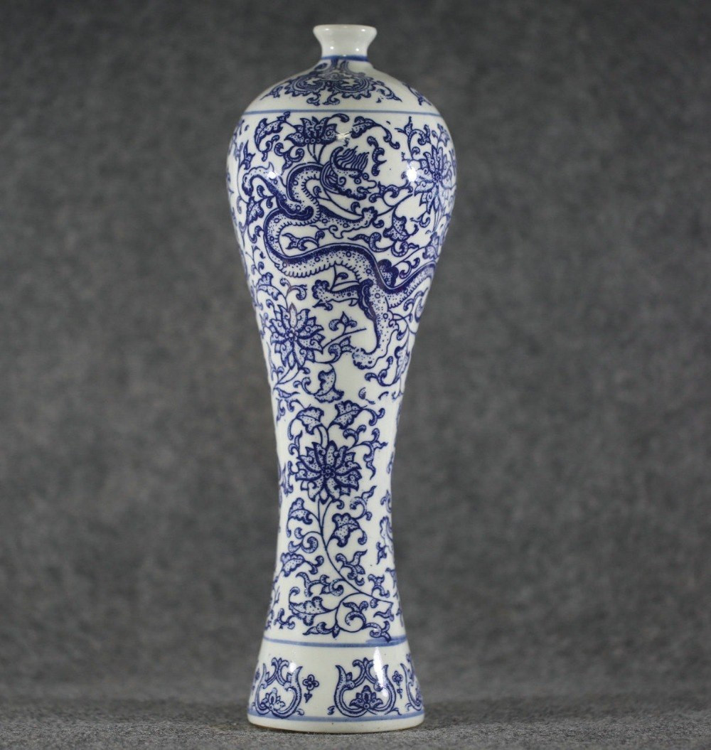 25 Popular Vintage Red Wing Pottery Vases 2021 free download vintage red wing pottery vases of ac290c285chinese antique style unique style dragonic blue and white intended for chinese antique style unique style dragonic blue and white porcelain vase f