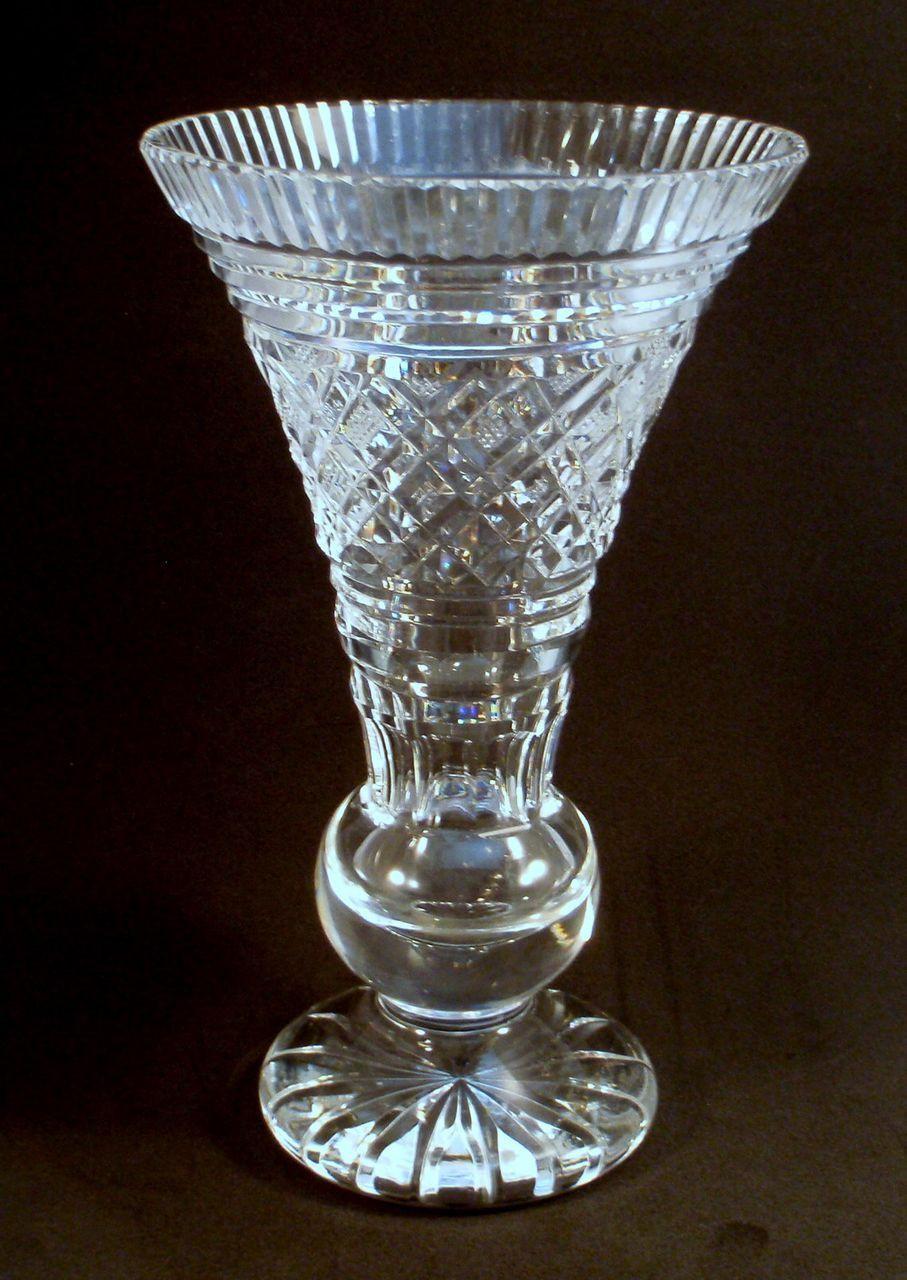 vintage waterford crystal vase of antique crystal vases image waterford crystal signed trumpet vase intended for antique crystal vases image waterford crystal signed trumpet vase from charmed life