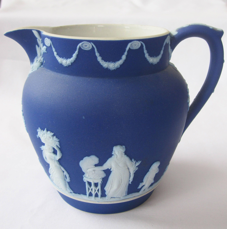 vintage wedgwood vases of wedgwood jasperware pitcher throughout 32w 0