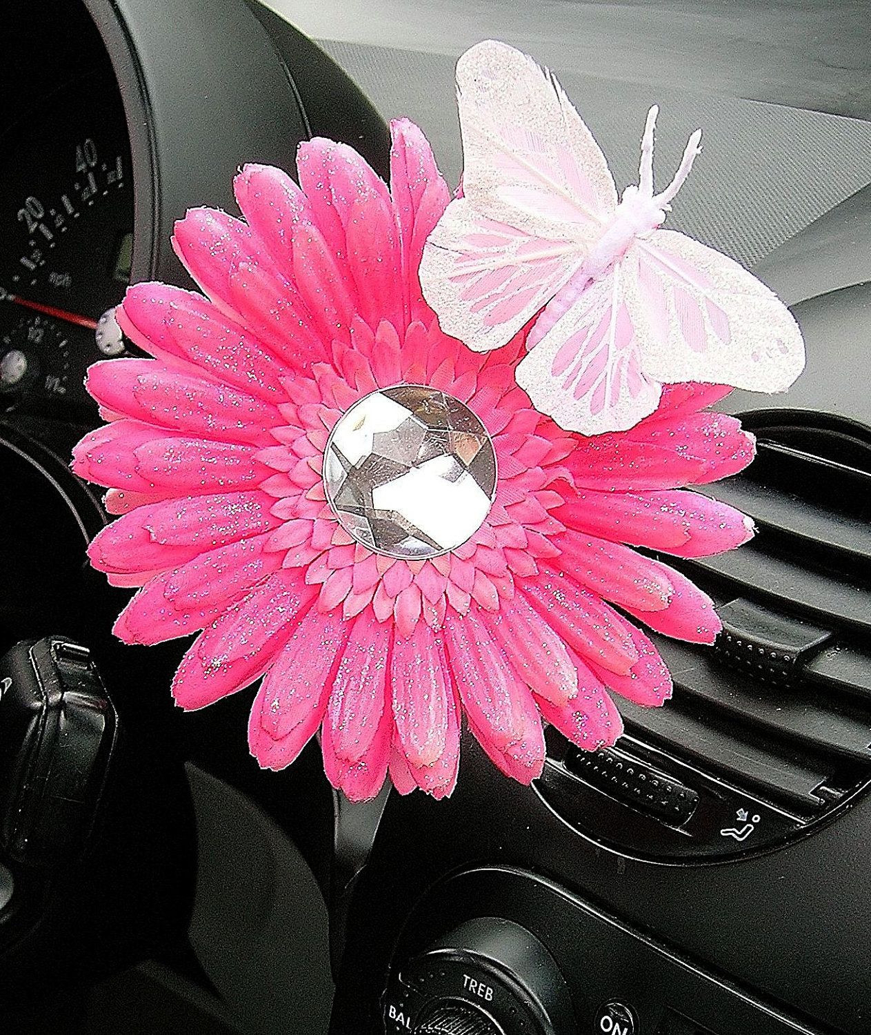 volkswagen flower vase of classic vw beetle flower vase diamond and blue bling by bling pertaining to vw beetle flower pink diamond bling daisy by blingmybug on etsy 12 50