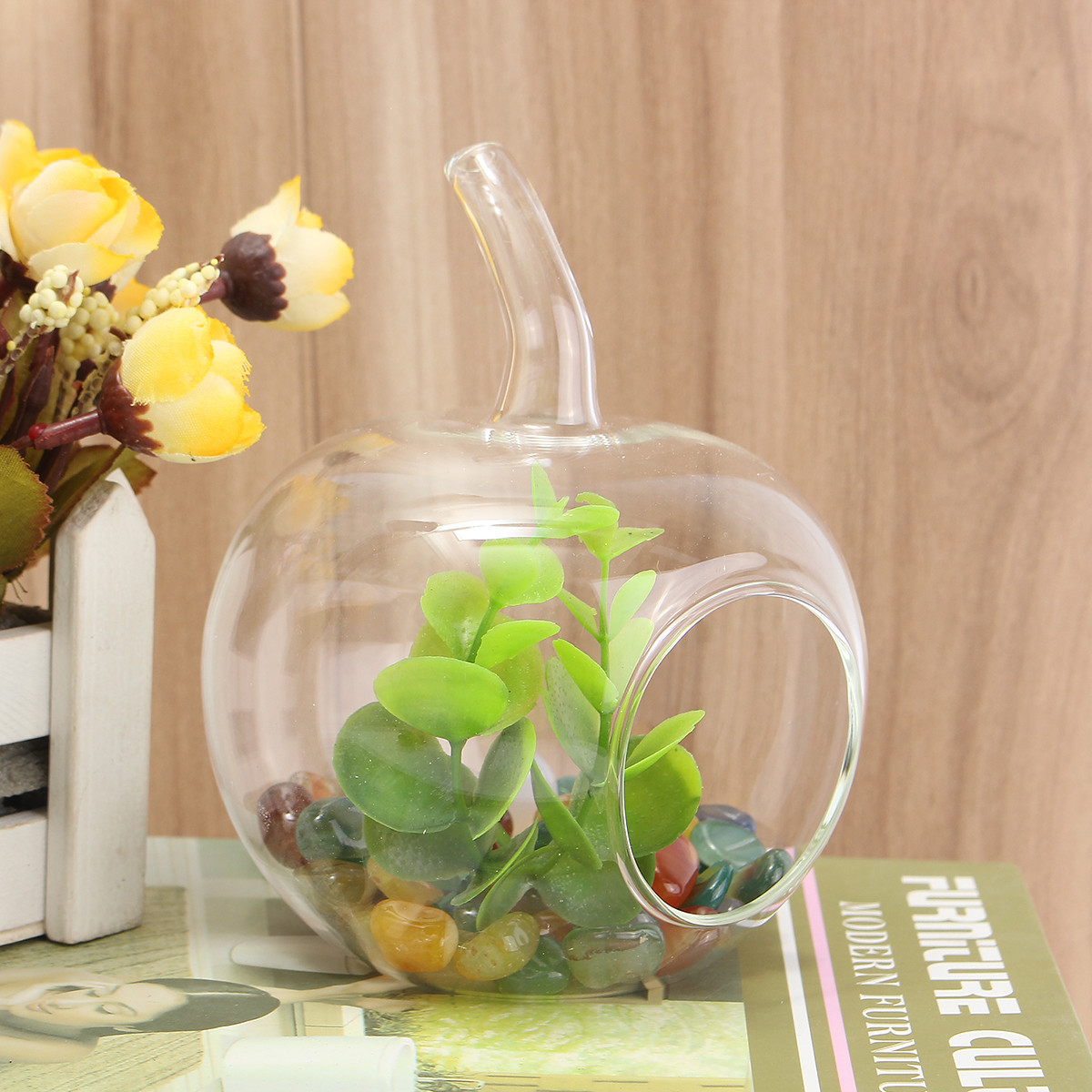 Volkswagen Flower Vase Of Plants Crystal Glass Flower Vase Terrarium Container Micro In 1 X Crystal Glass Flower Vase