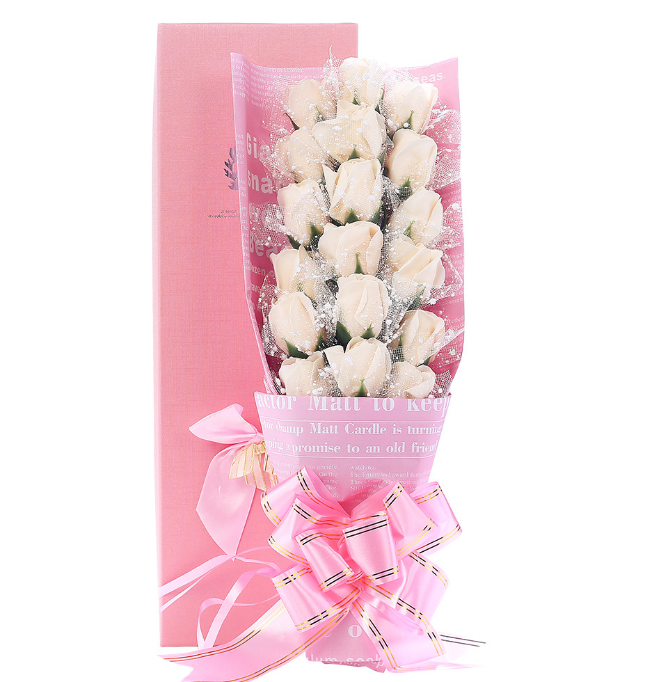 vw beetle flower vase of a—š18pcs box pressent rose artificial fashion flower sweet smell with inside xaingqingshouye