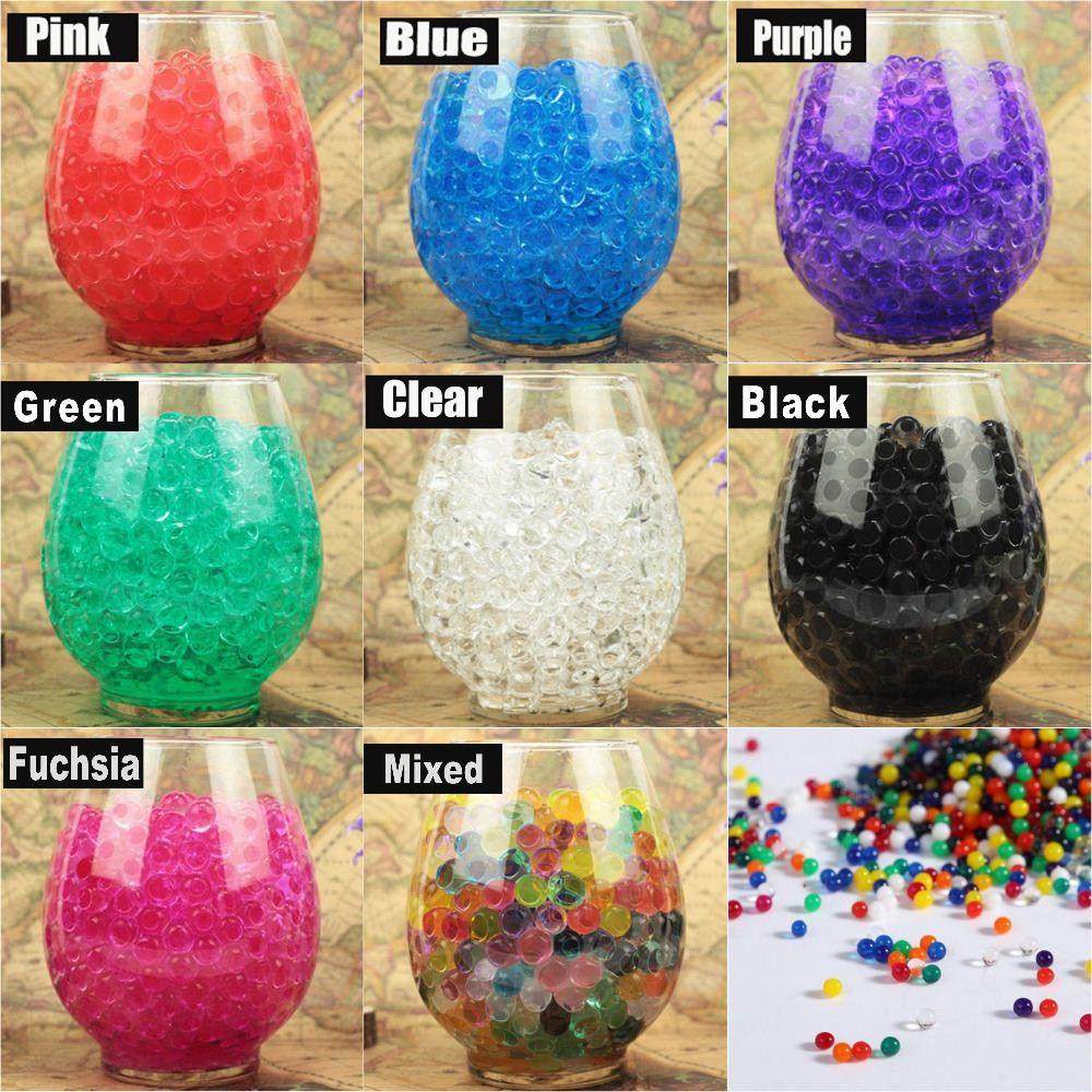 water beads vase of 50g bag colorful magic pearl vase filler shaped crystal soil water within 50g bag colorful magic pearl vase filler shaped crystal soil water beads mud grow jelly balls home wedding decoration aliexpress aliexpress com online