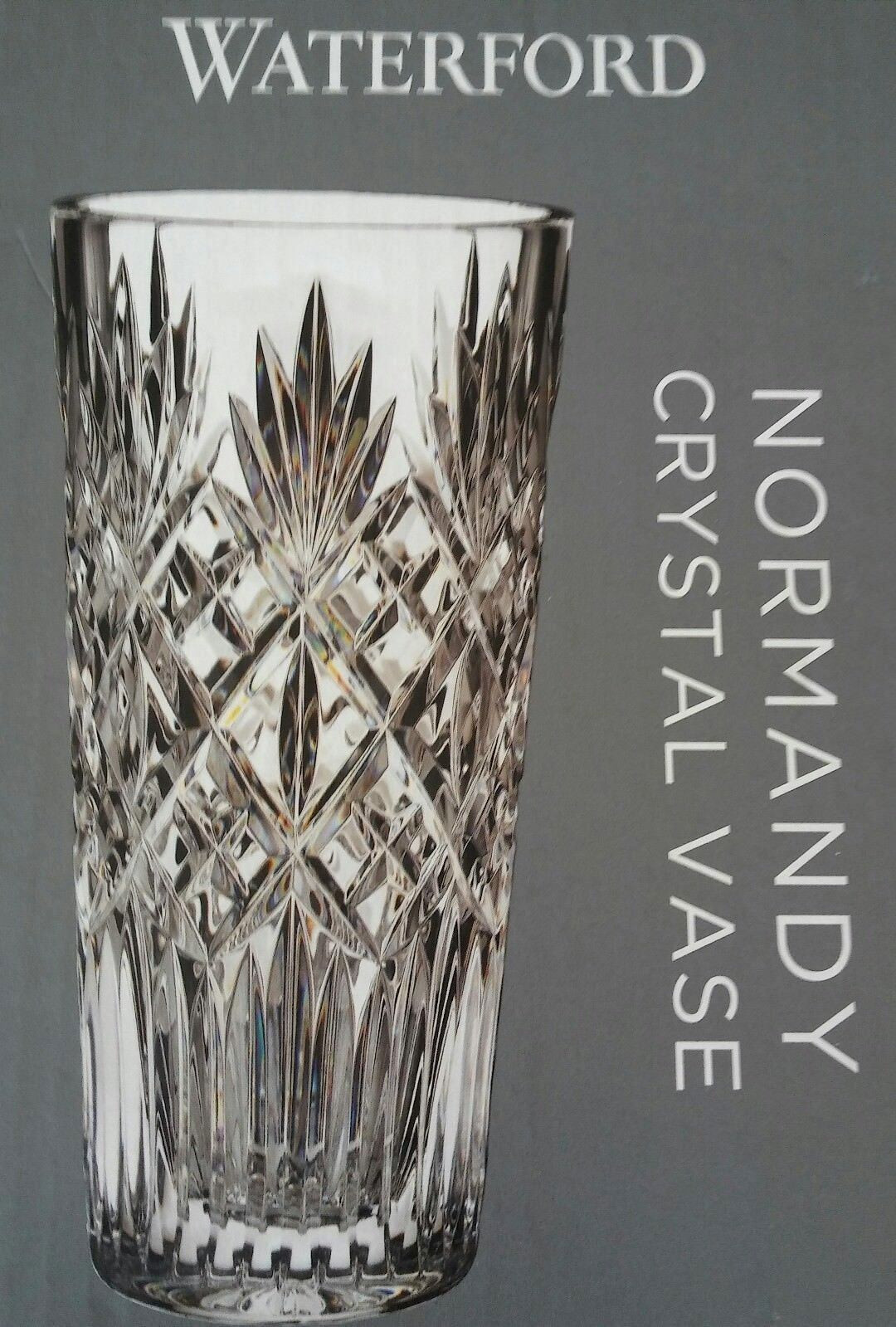 Waterford 6 Inch Vase Of Waterford normandy Vase 10 Tall Lead Crystal 79 99 Picclick Regarding 1 Of 5 See More